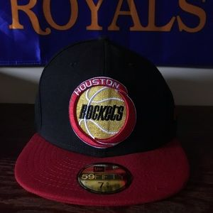 New Era Brand New Houston Rockets Size 7 5/8